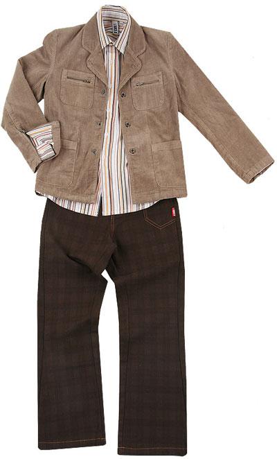 Пиджак с карманами. Пристраиваю