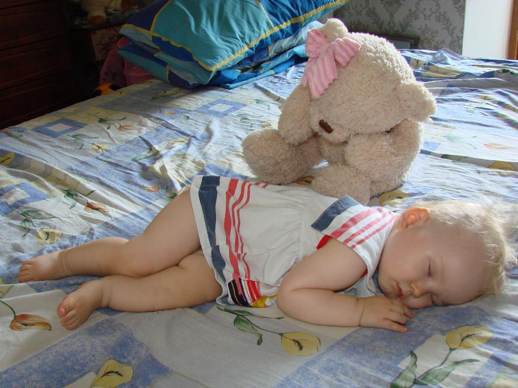 Мы немного отдохнем и опять играть начнем!. Спят усталые игрушки