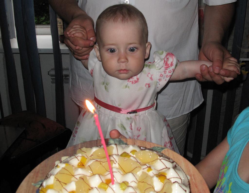 Притяжение свечи. Первый День рождения