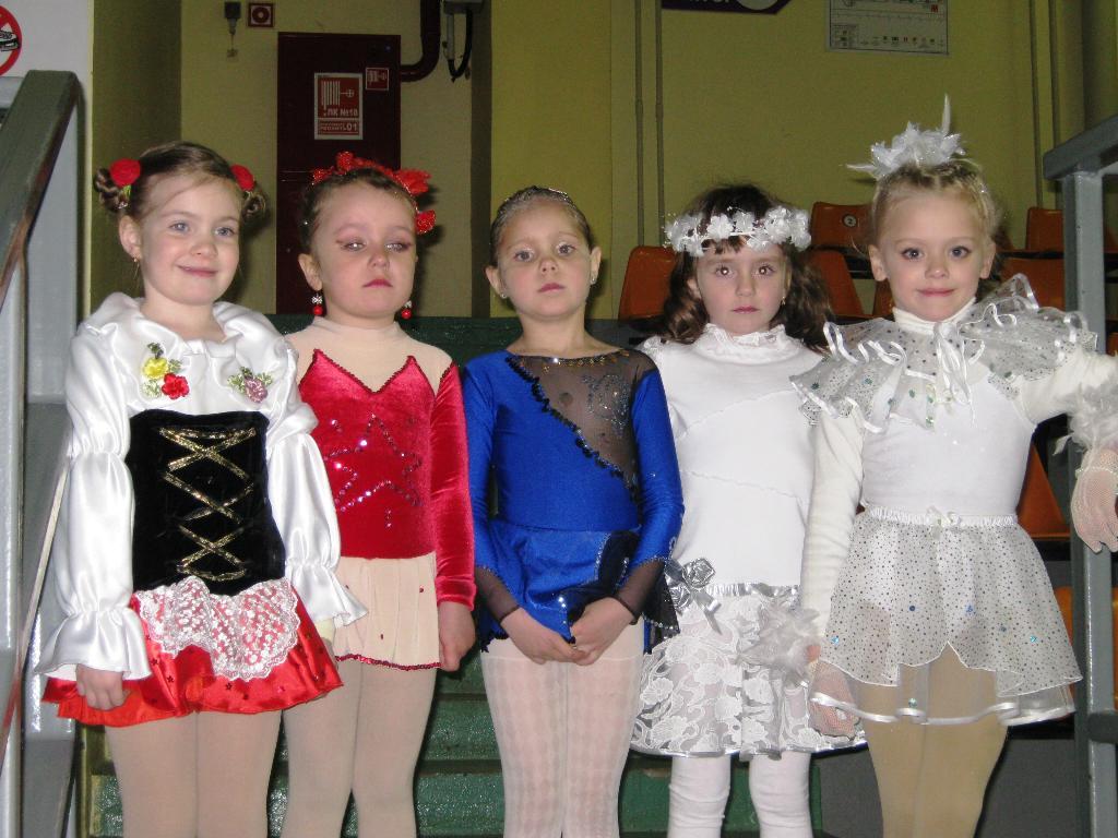 принцессы льда. Юные спортсмены