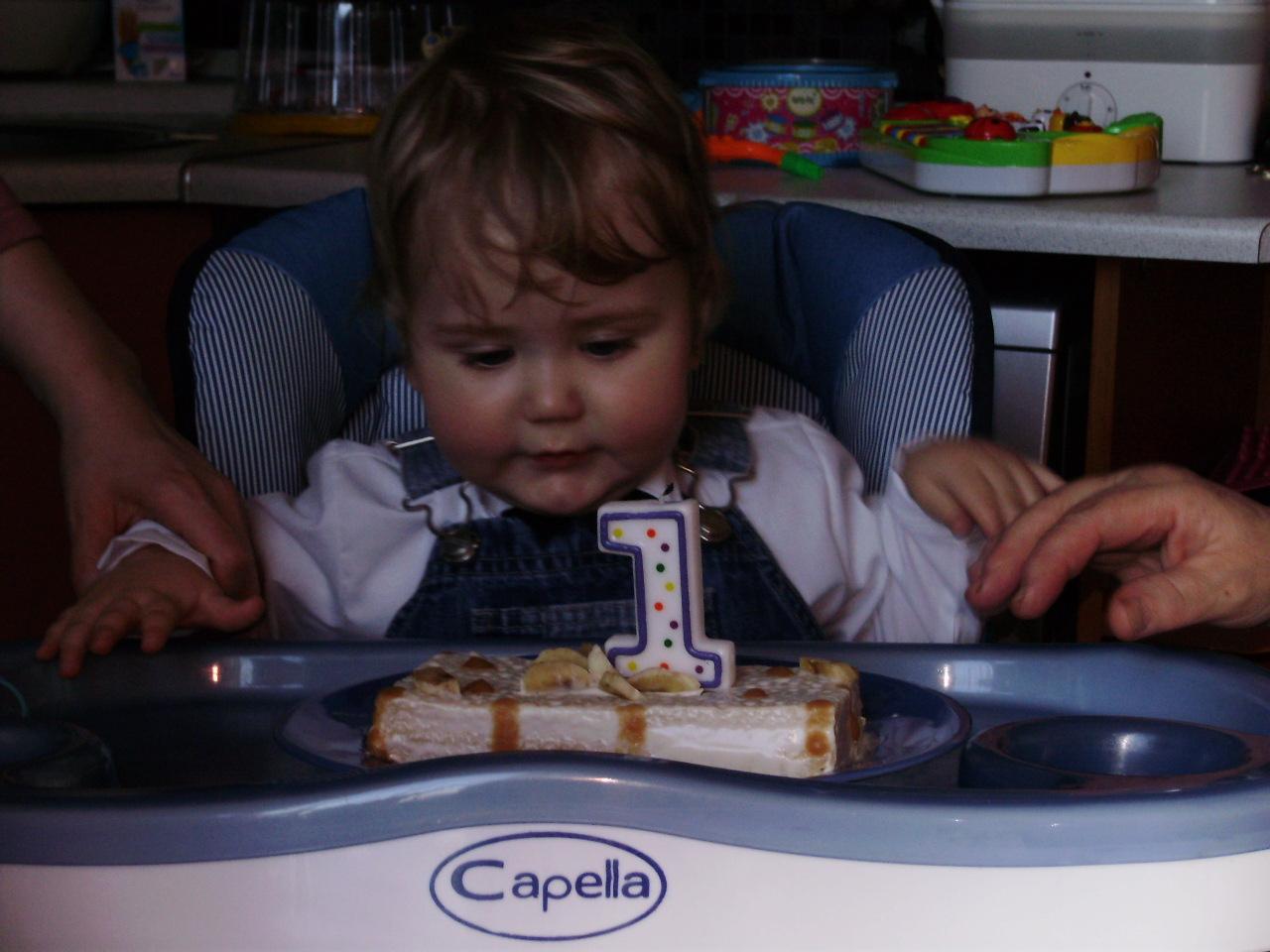 мой первый тортик. Первый День рождения