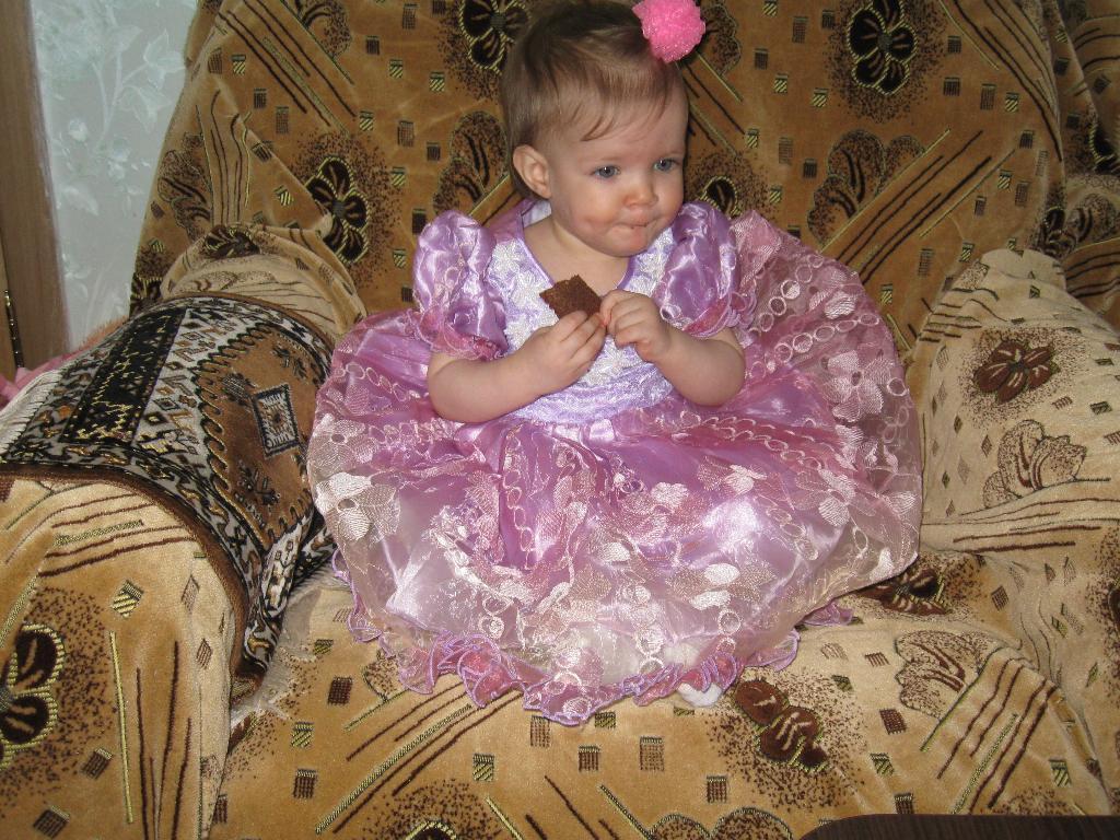 маленькая принцеса. Первый День рождения