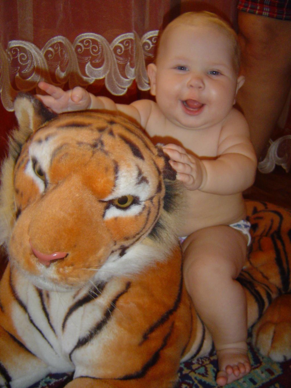 укратительница тигров. Мобильные малыши