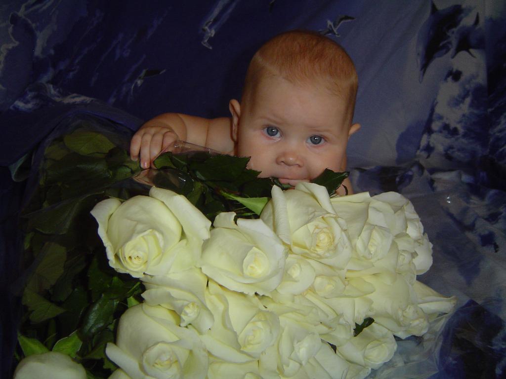 миллион белых роз. Малыши