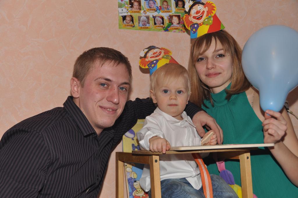 Дениске 1 годик!!!. Первый День рождения