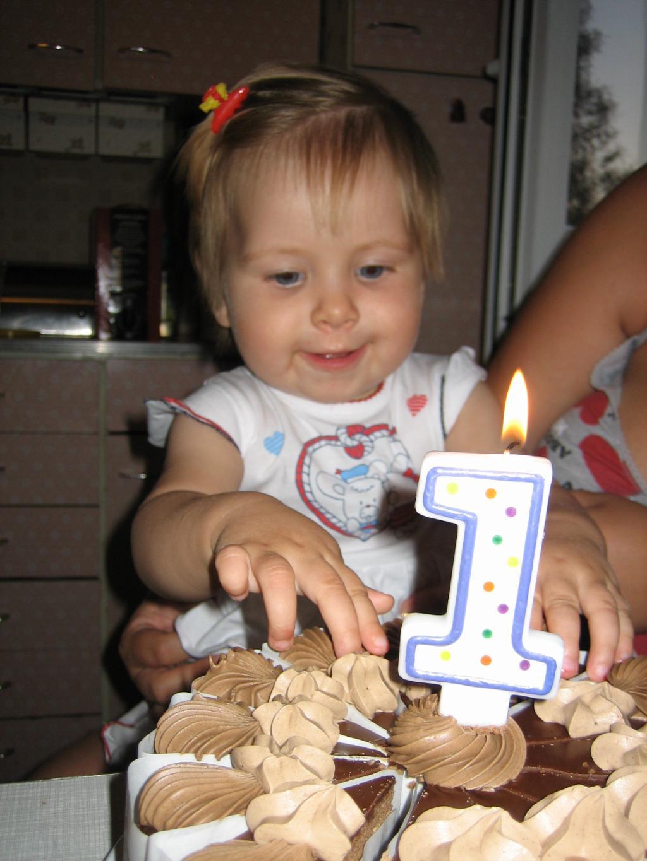 наш первый маленький юбилей. Первый День рождения