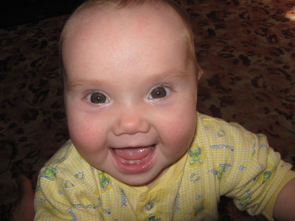 Мои зубки!!!. Мои первые зубки
