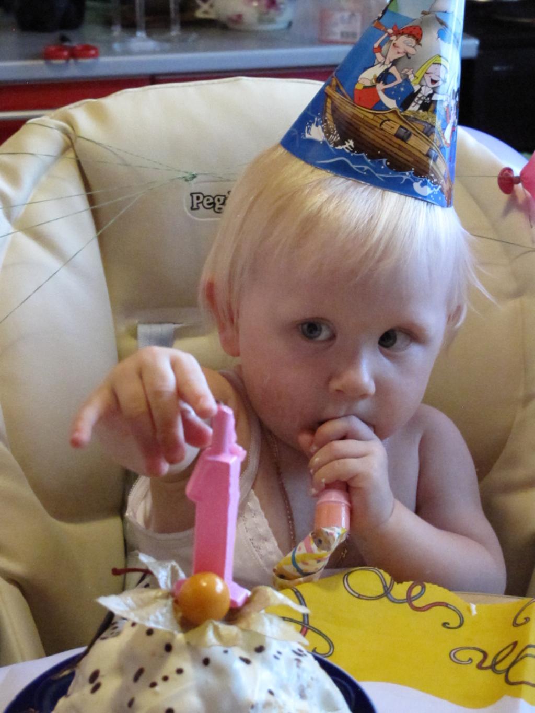 Мне 1 год!. Первый День рождения