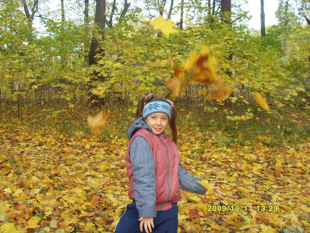 осенний парк. Осенняя прогулка