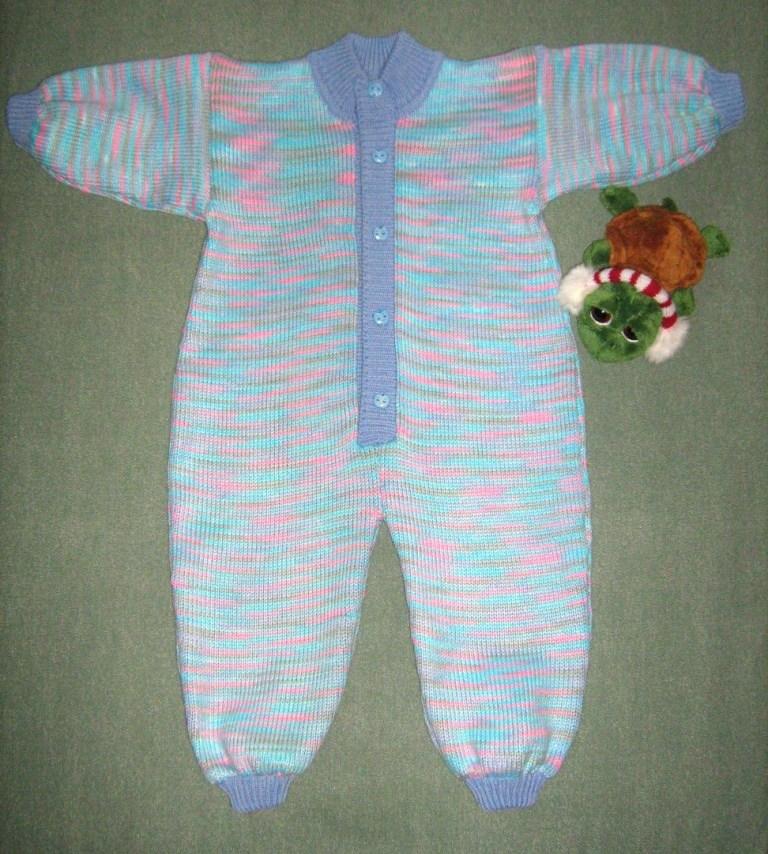 Комбинезон(машинное вязание). Одежда для детей