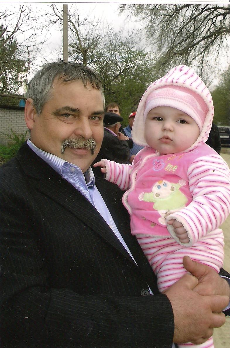А я, вот, на деда похожа!!!. Как две капли