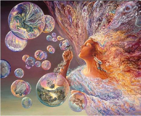 Bubble flower. Женские образы