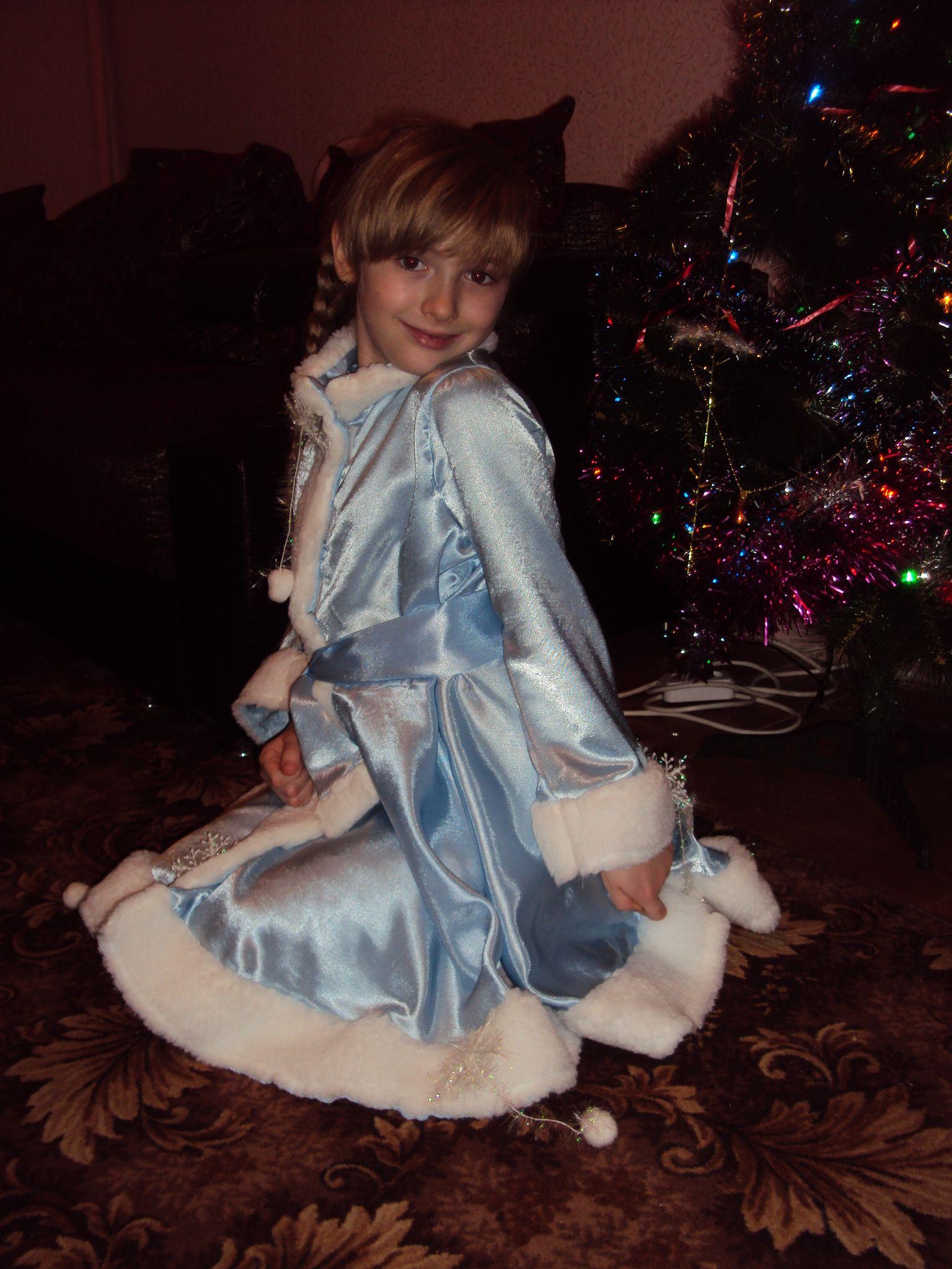 Я снегурочка-снежинка!!!. Новогодний карнавал