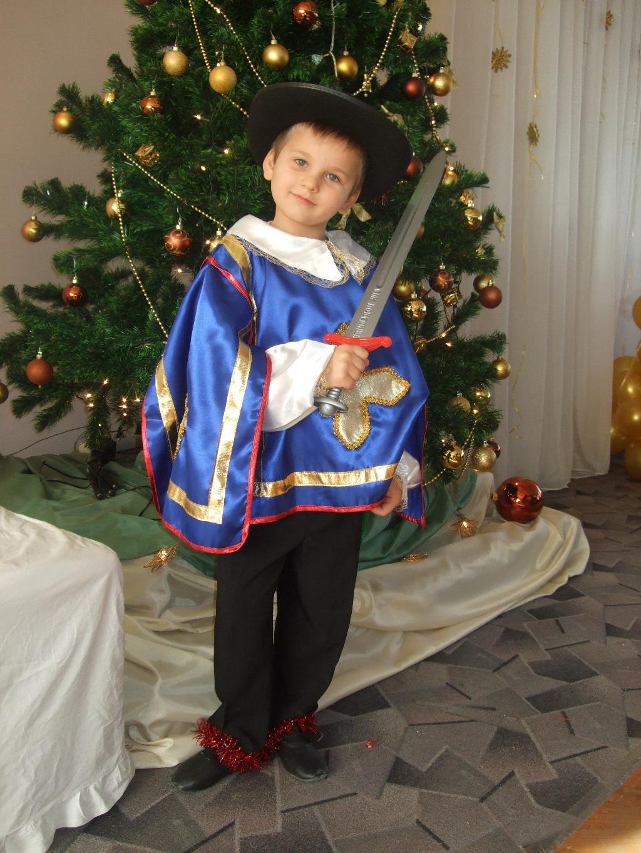 Мой любимый мушкетер. Новогодний карнавал