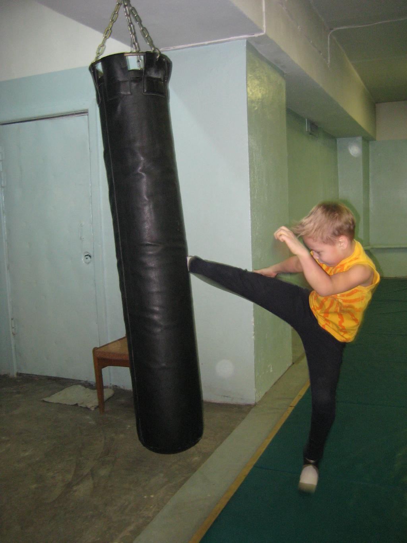 Атака боксерской груши. Моя тренировка