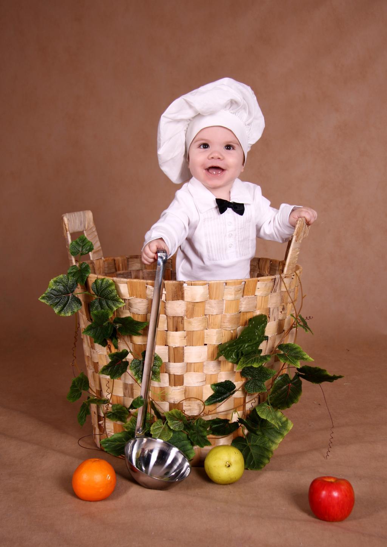 Маленький шеф-повар!!!. Закрытое голосование фотоконкурса 'Новогодний карнавал'