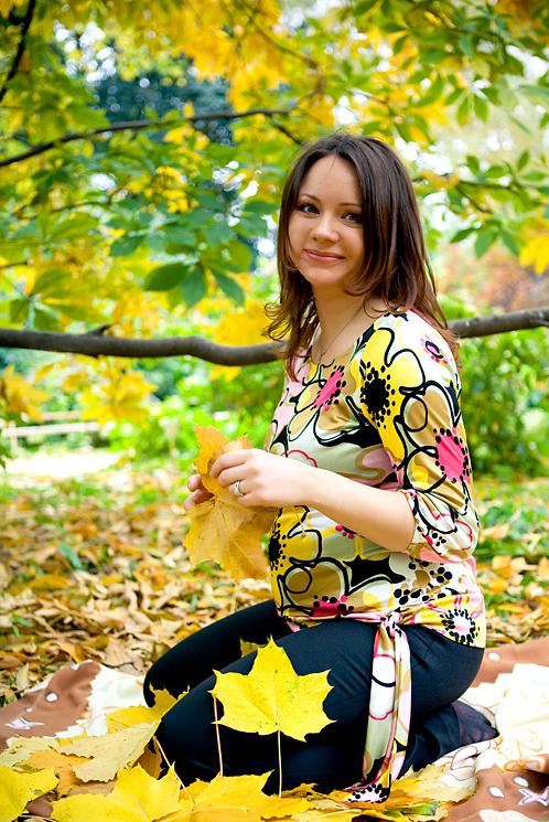Осенняя беременность. Стильная беременность