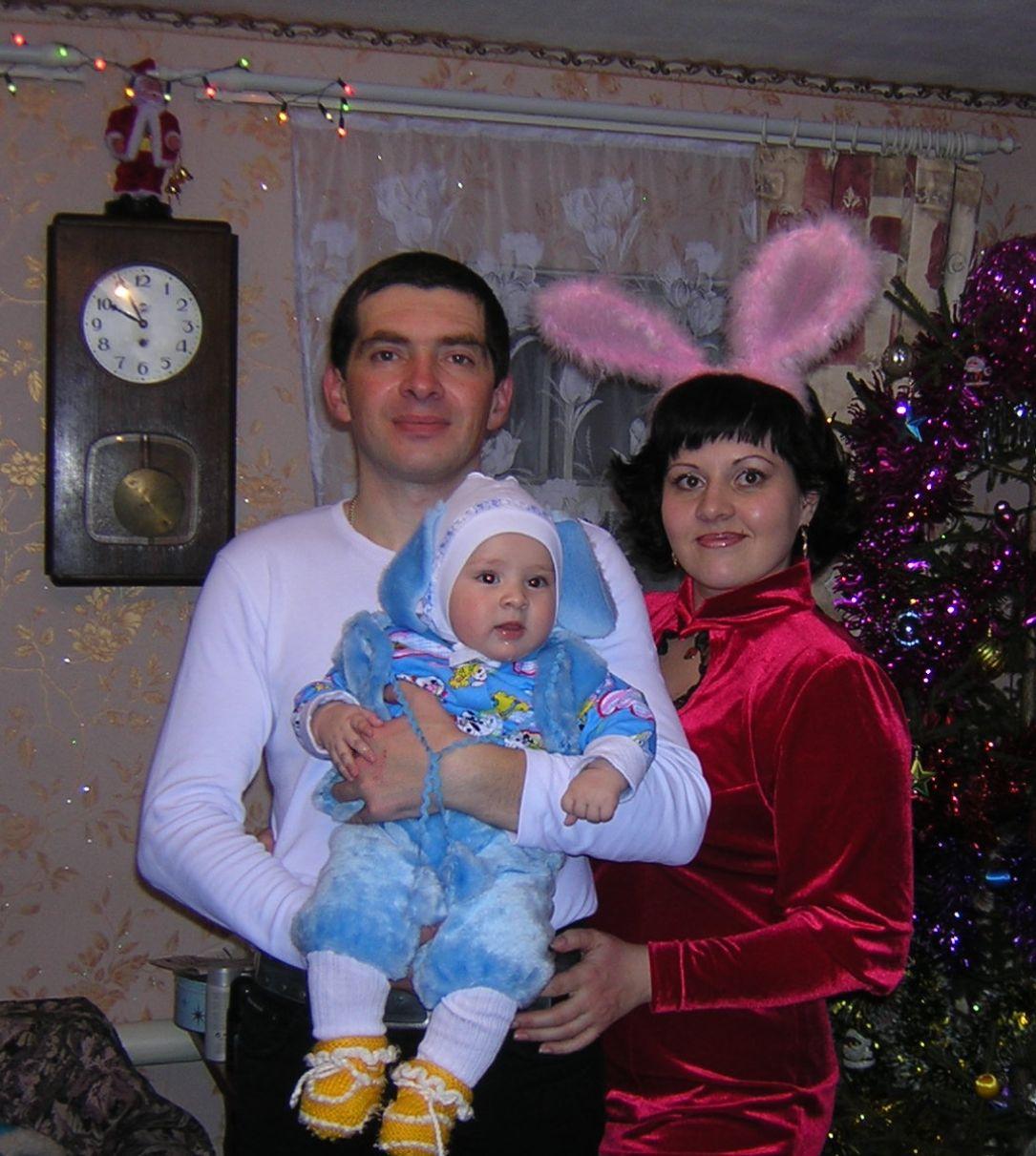 Мама, папа, Я - ушастая семья!. Новогодний карнавал
