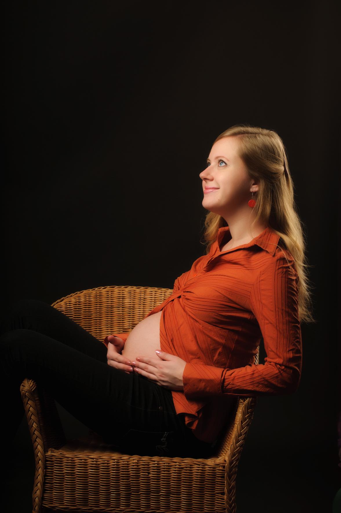 Оранжевое Настроение. Стильная беременность