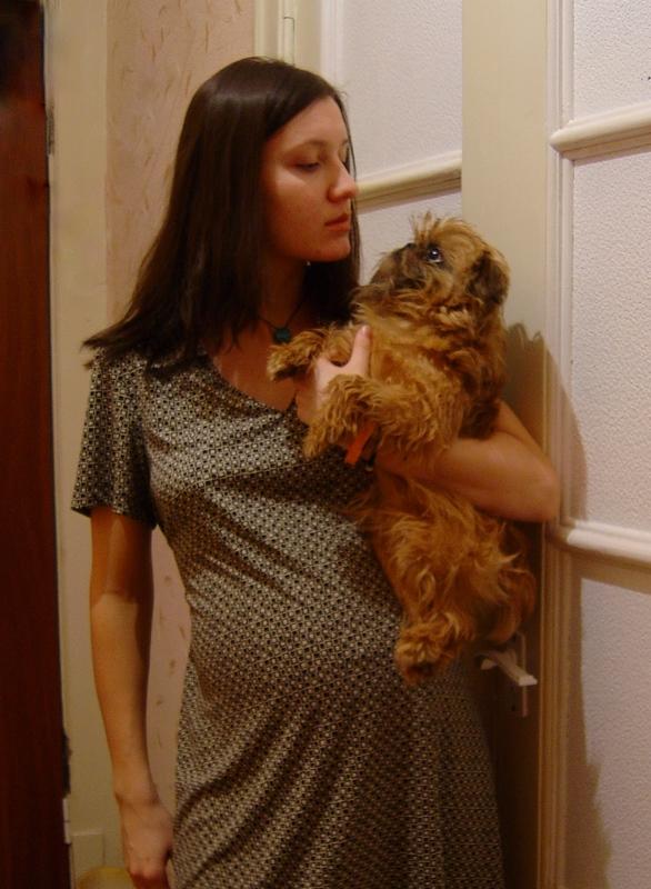 Беременная дама с собачкой. Стильная беременность