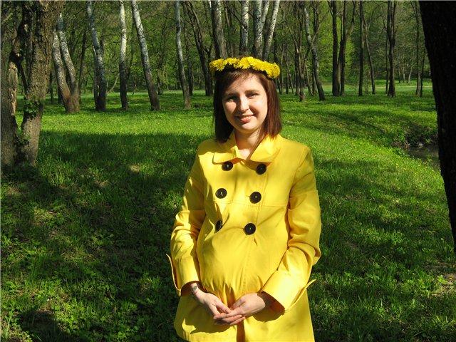 Ранняя весна.... Стильная беременность