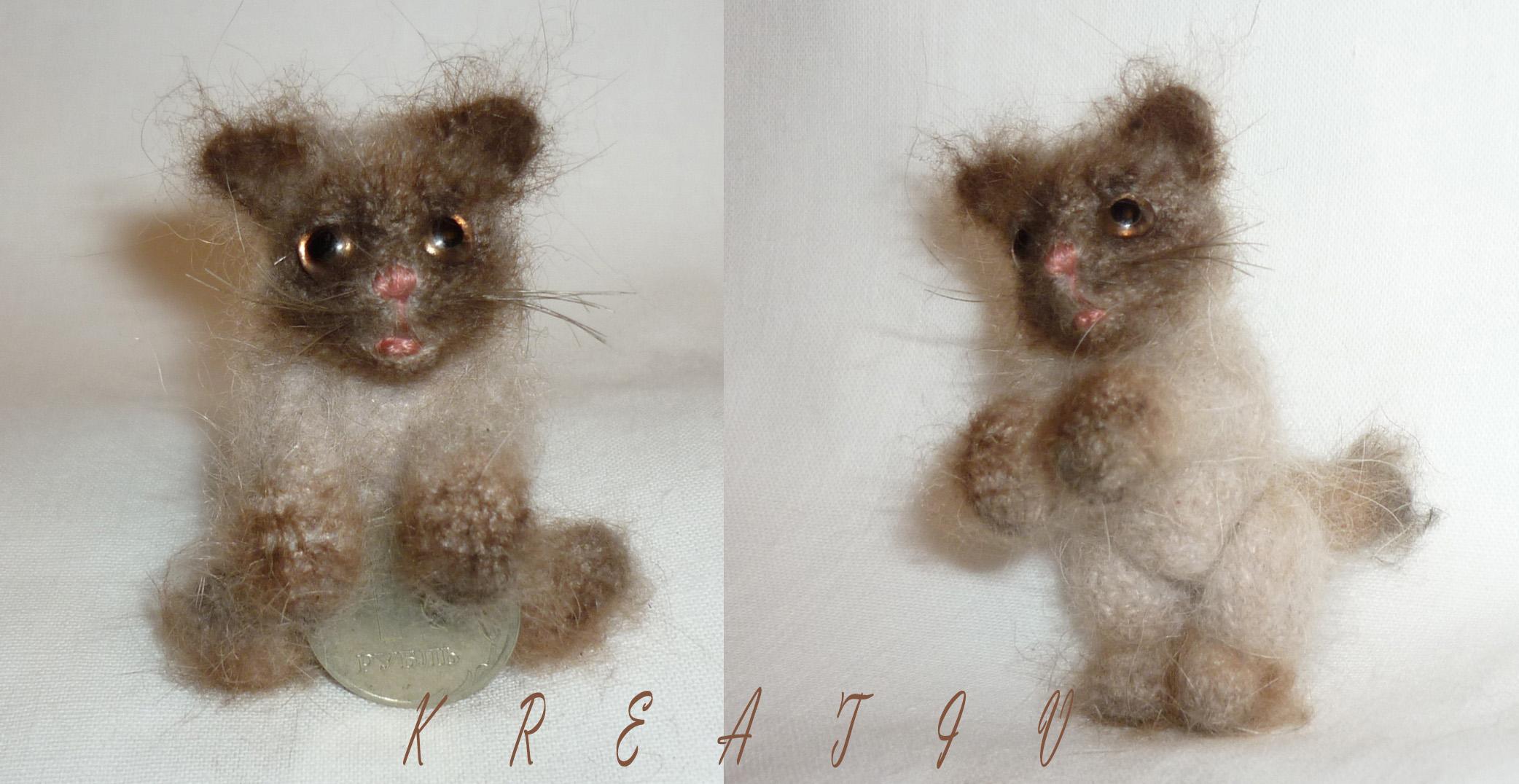 Котенок.. Самодельные игрушки