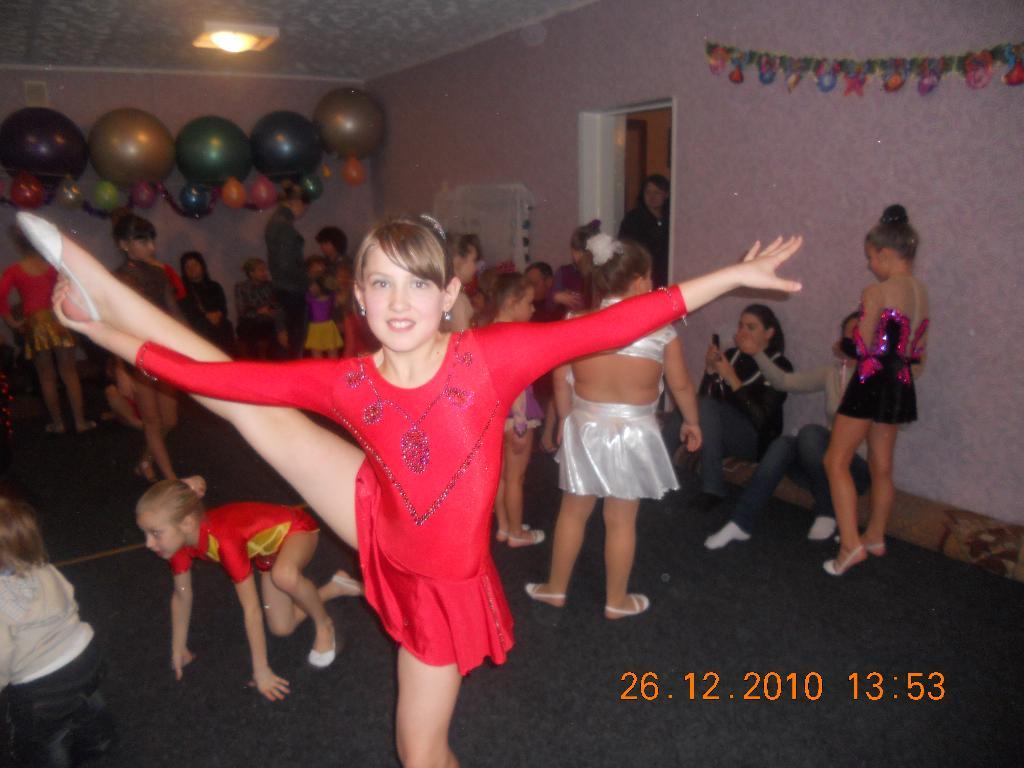 Моя любимая гимнастка. Моя тренировка