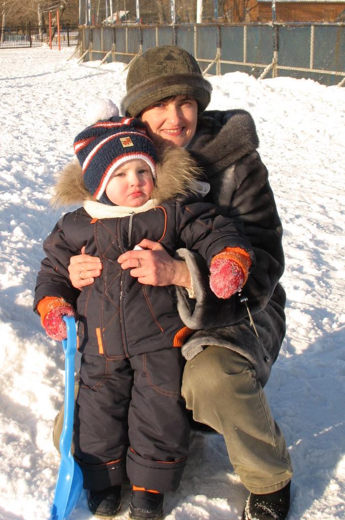 С мамой на прогулке. Закрытое голосование фотоконкурса 'С мамой на прогулке'