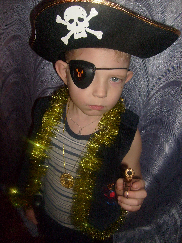 Грозный пират. Новогодний карнавал