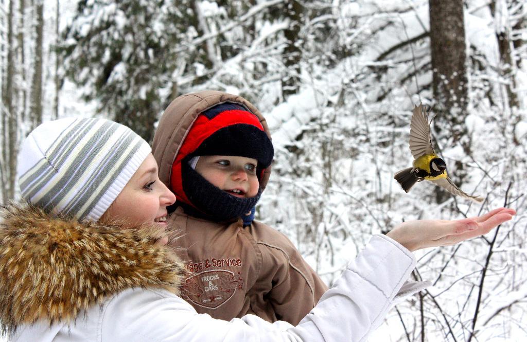 Хорошо в лесу гулять.. Закрытое голосование фотоконкурса 'С мамой на прогулке'