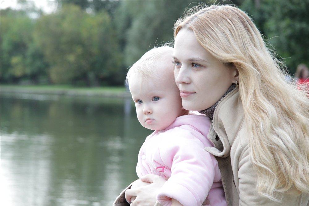 С мамой на прогулке!. Закрытое голосование фотоконкурса 'С мамой на прогулке'