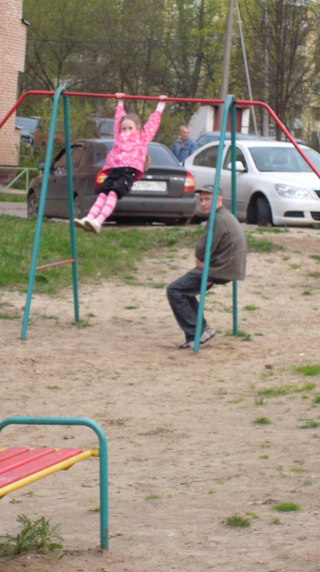 Юная гимнастка. Моя тренировка