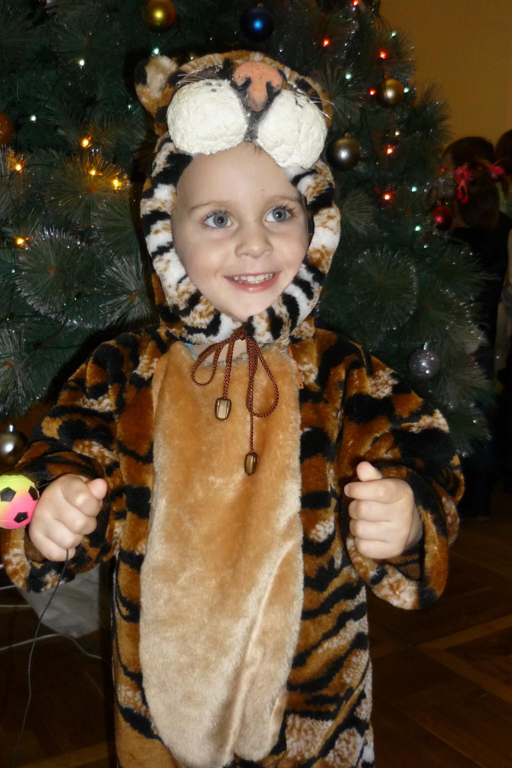 Мой тигрёнок!. Новогодний карнавал