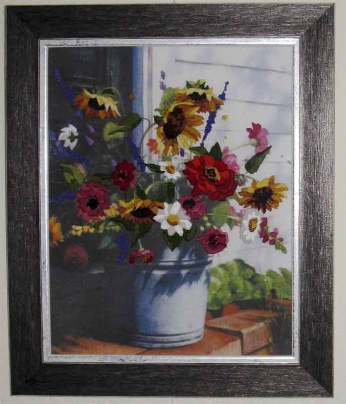 Дачный букет. Растения (в основном цветы)