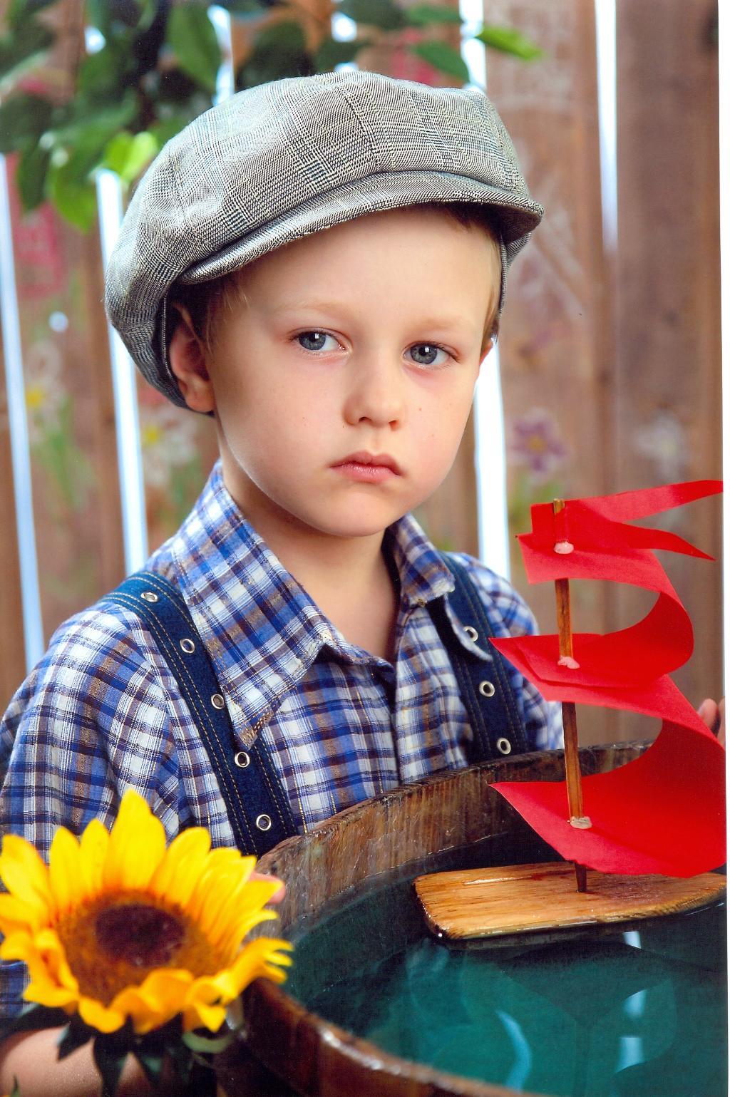 Том Сойер. Дети: художественное фото