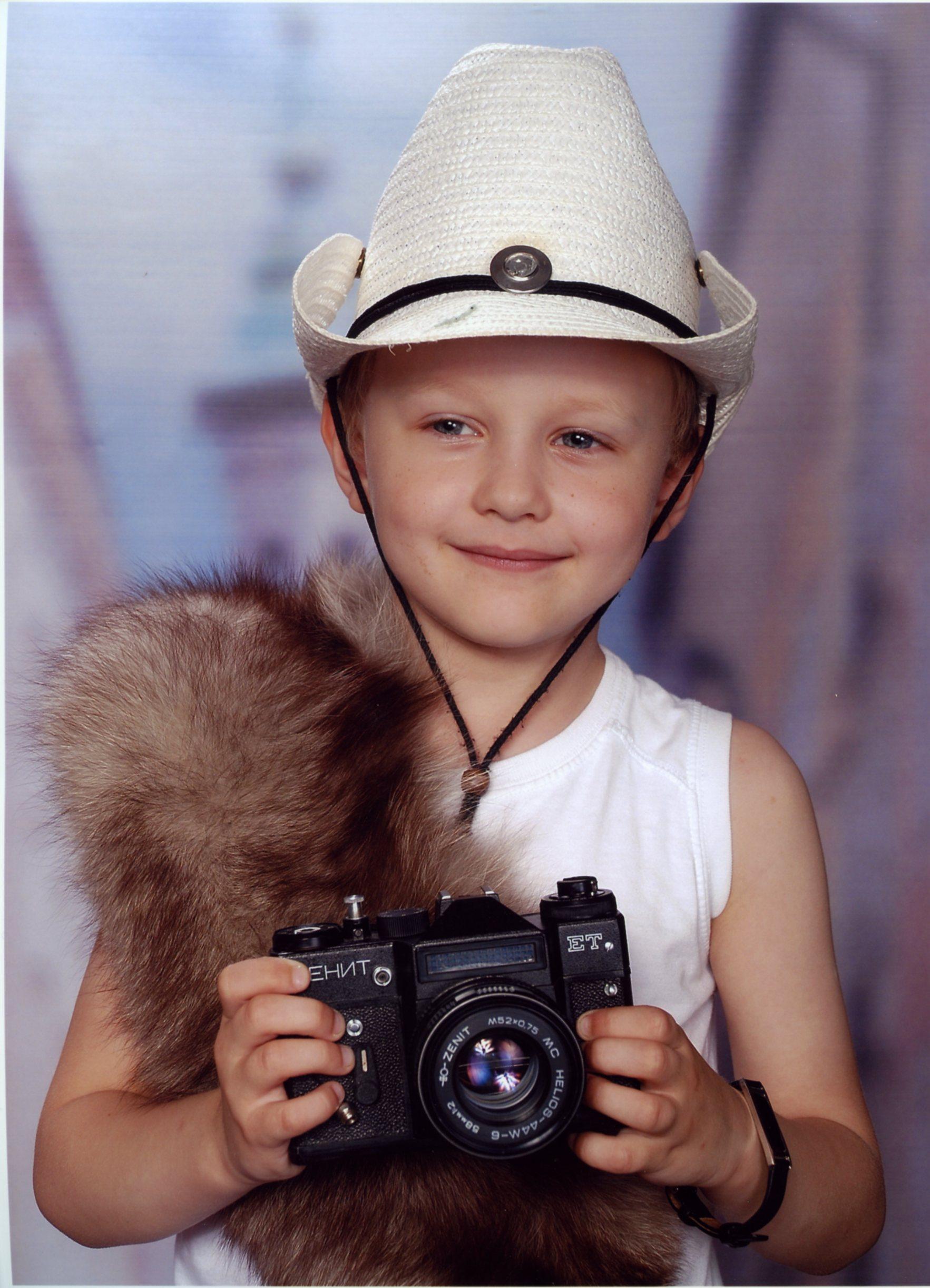 Сафари. Дети: художественное фото