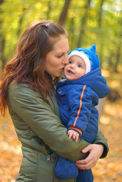 Осенняя прогулка в парке. Закрытое голосование фотоконкурса 'С мамой на прогулке'