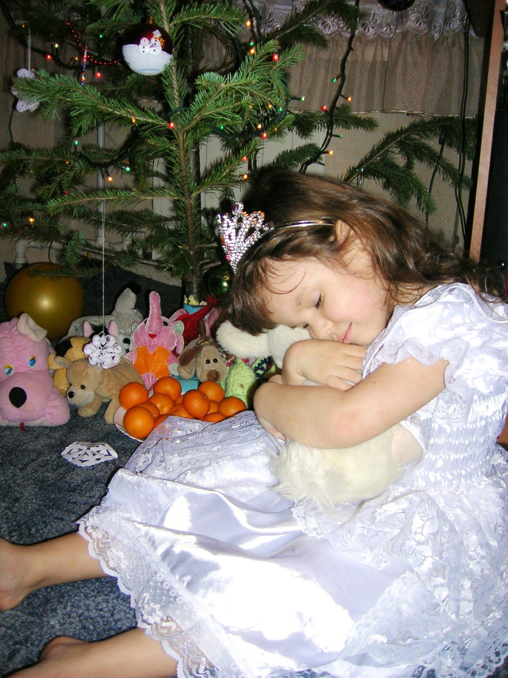 Алиса в стране чудес и белый кролик. Новогодний карнавал