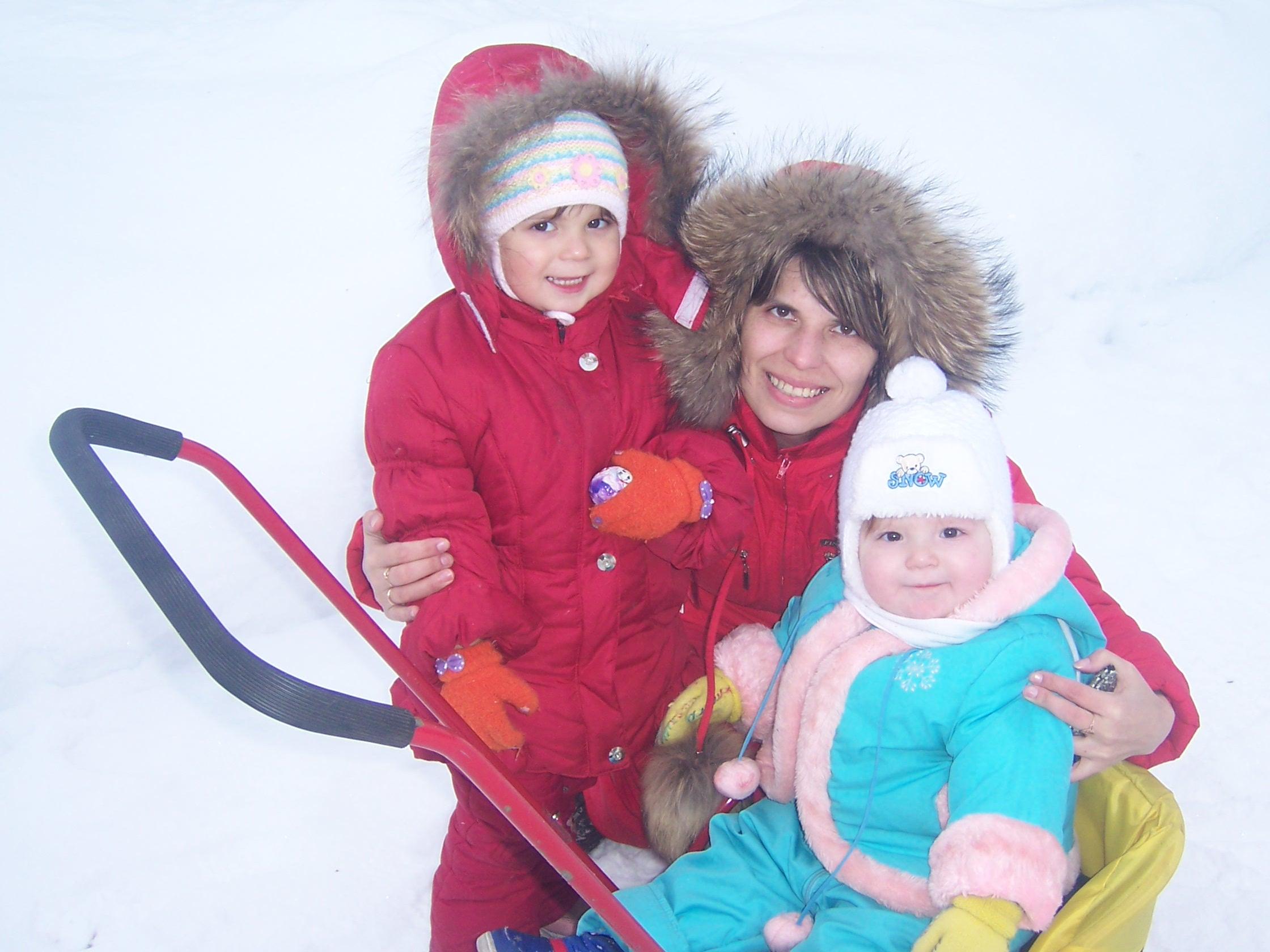 Зима!. Закрытое голосование фотоконкурса 'С мамой на прогулке'