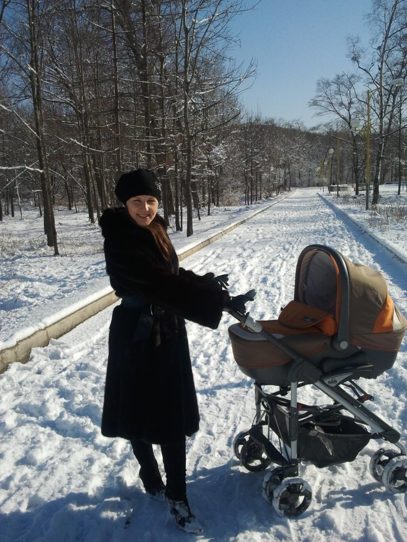 Я с мамой на прогулке. . С мамой на прогулке