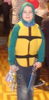 Черепашка-ниндзя (Леонардо). Новогодний карнавал