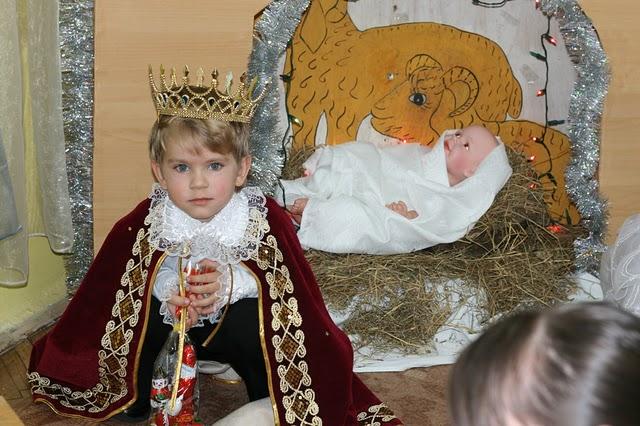 Димка - царь. Новогодний карнавал