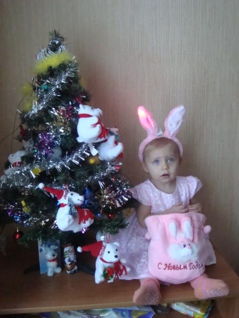 Сказочная розовая заинька!. Новогодний карнавал
