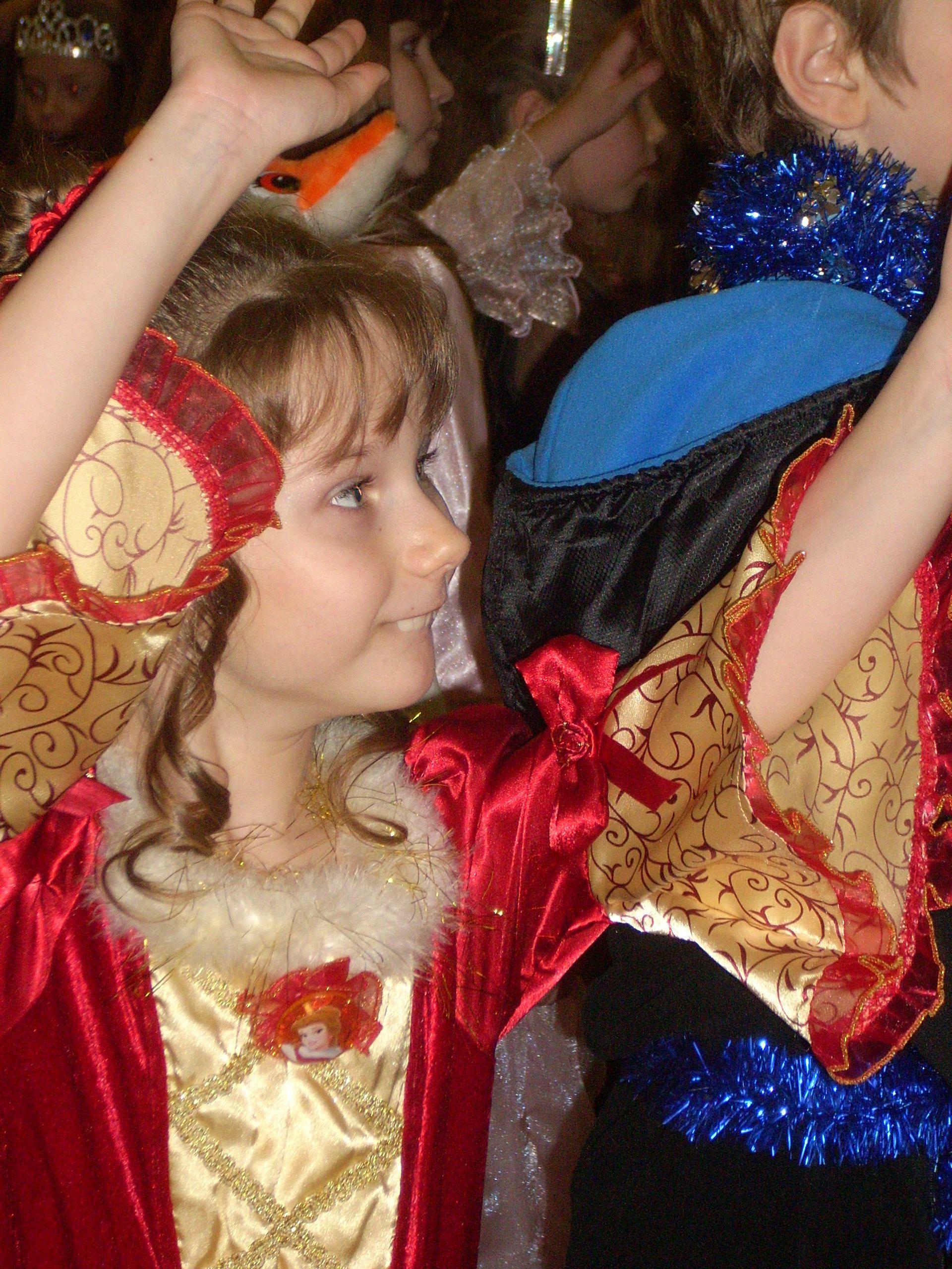 Принцесса на карнавале. Новогодний карнавал