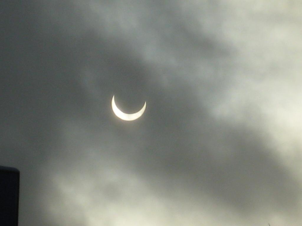 Луна затмевает солнце... (ноябрь 2011). Блиц: луна