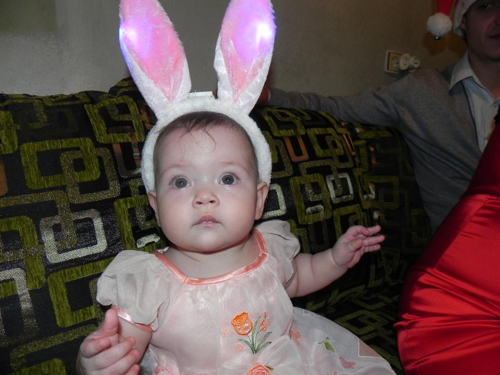 Зайчишка-шалунишка. Новогодний карнавал