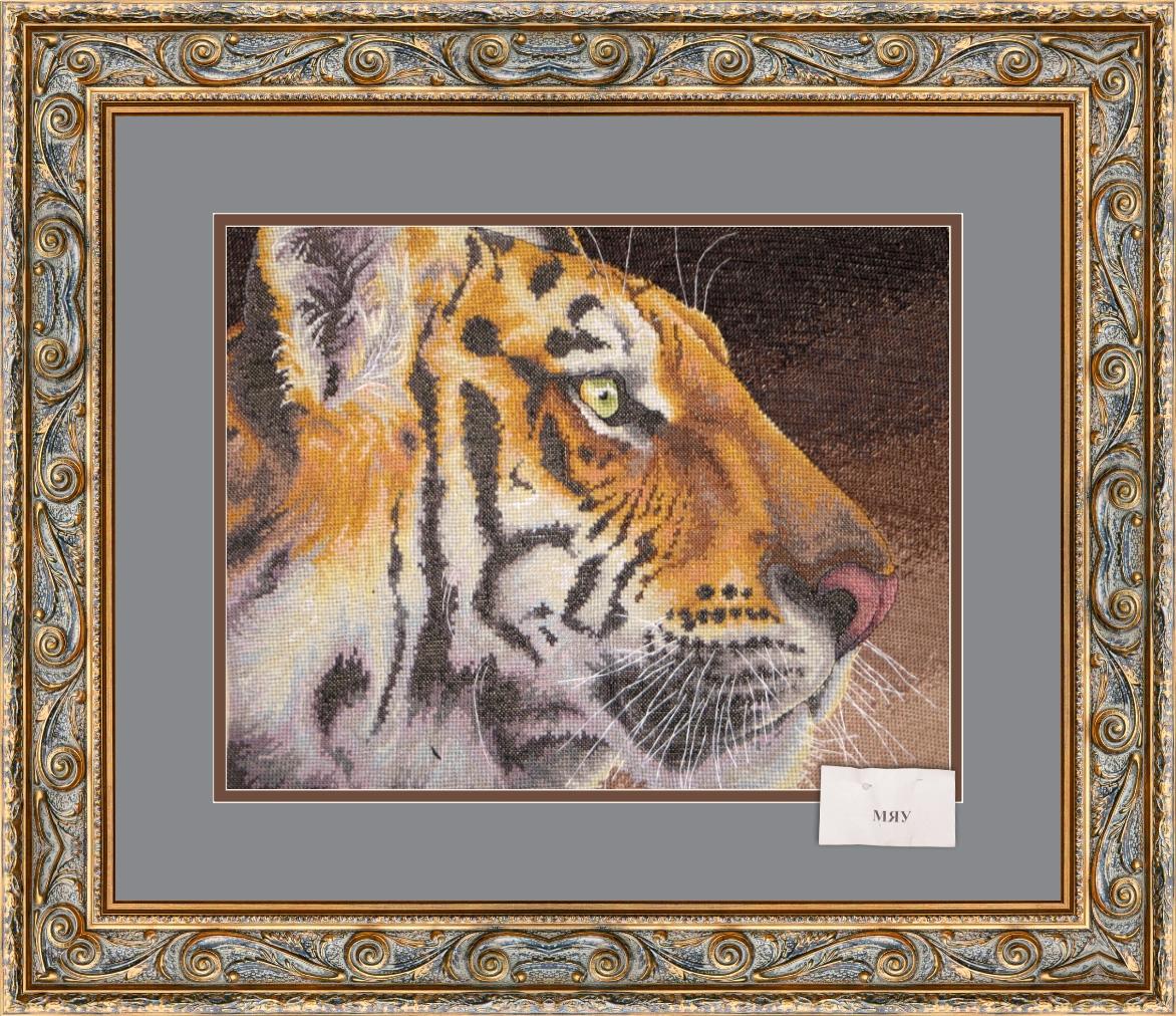 Величественный тигр.. Животные
