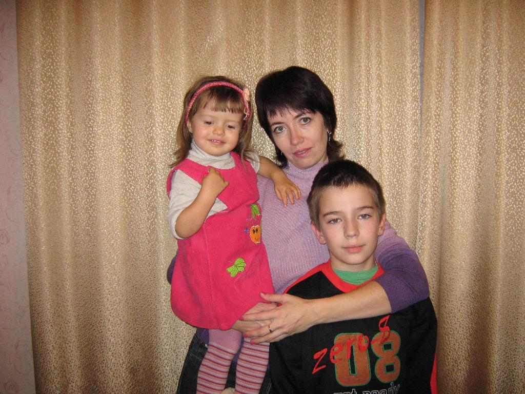 Я и мои детки -Катя и Кирилл. Братишки и сестренки