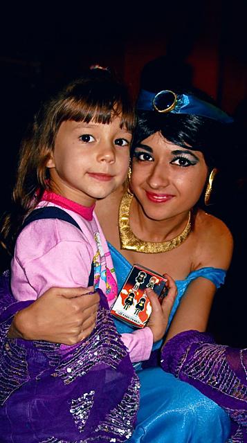 Восточная Принцесса Жасмин и Маленькая Принцесса. Новогодний карнавал