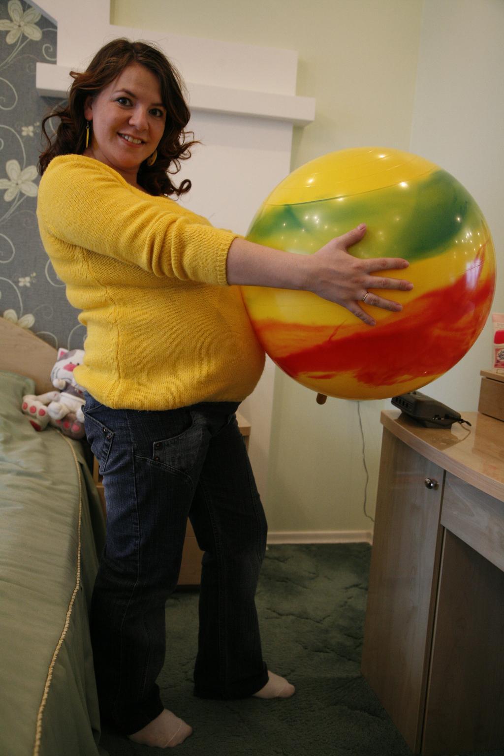 А животик всё растет!!!. Стильная беременность